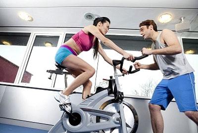 Велотренажер для похудения — программа тренировок