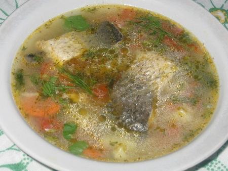 Диета на рыбном супе