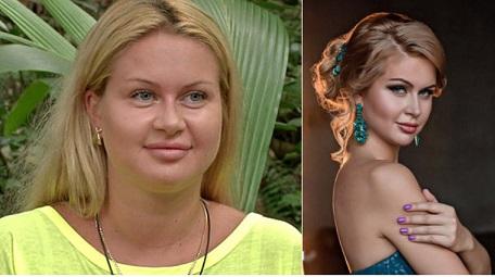 африкантова до и после похудения