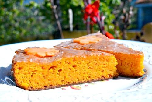 диетический морковный пирог
