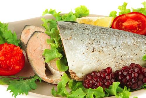 рыбная диета меню