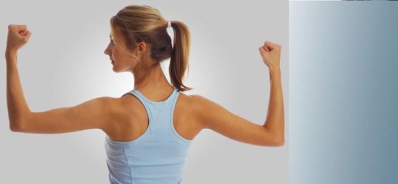 упражнения для похудения спины и рук