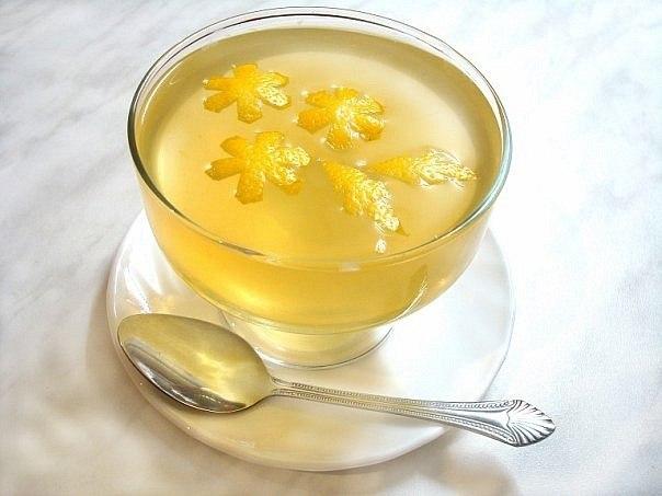 Диетический десерт «Желе лечебное»