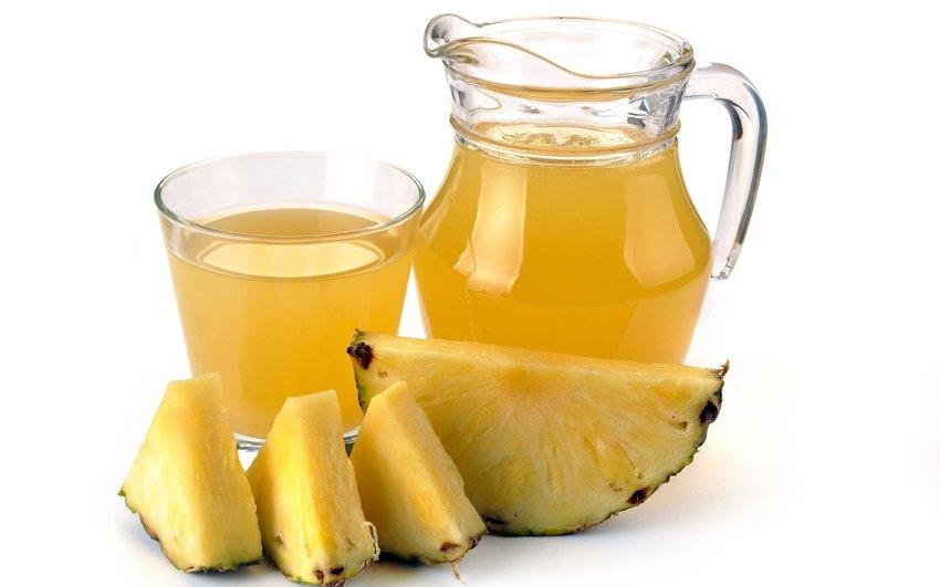 Настойка из ананаса с водкой для похудения