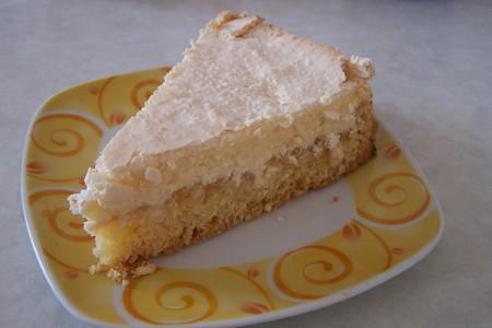 Диетический творожный пирог