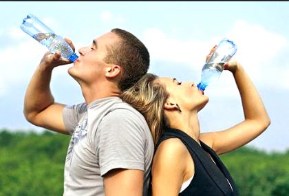 Очищение организма минеральной водой