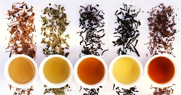 Разновидности чаев для очищения