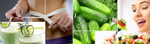 огуречная диета отзывы
