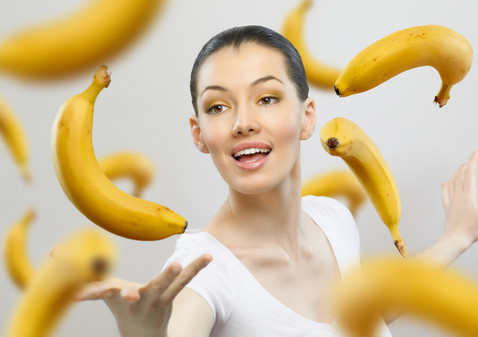 разгрузка на бананах