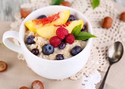 разгрузочный день на овсянке и фруктах