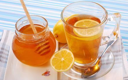 Зелёный чай с медом