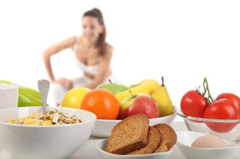 Примерное меню фитнес-диеты