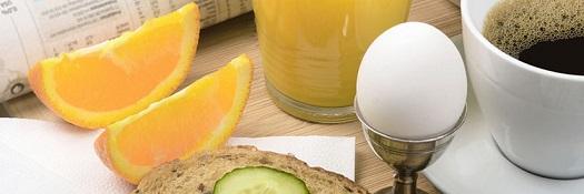 диета завтрак 2 яйца апельсин