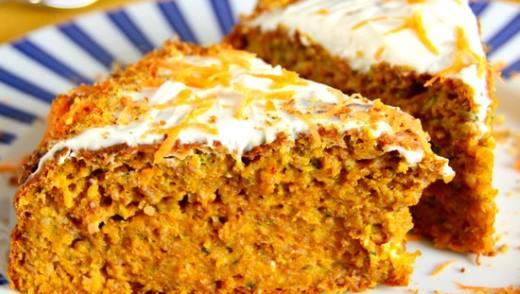 диетический морковный торт в мультиварке