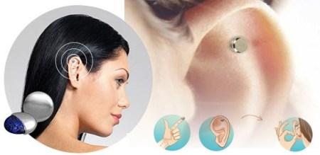 магнит для похудения на ухо