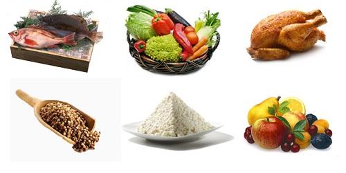 меню 6 лепестковой диеты