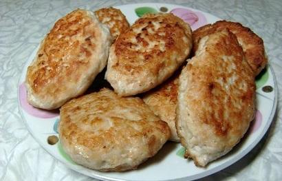 диетические котлеты из индейки в духовке без хлеба