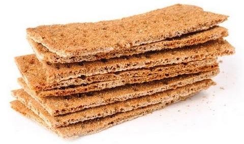 Хлебцы диетические с отрубями