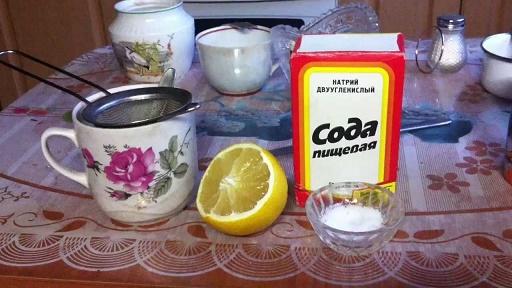 рецепт похудения с содой пищевой